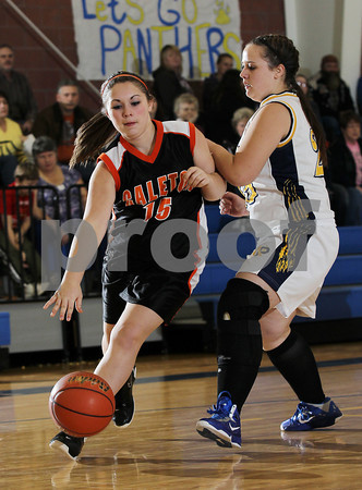 2012 Galeton Girls JV Basketball @ Northern Potter