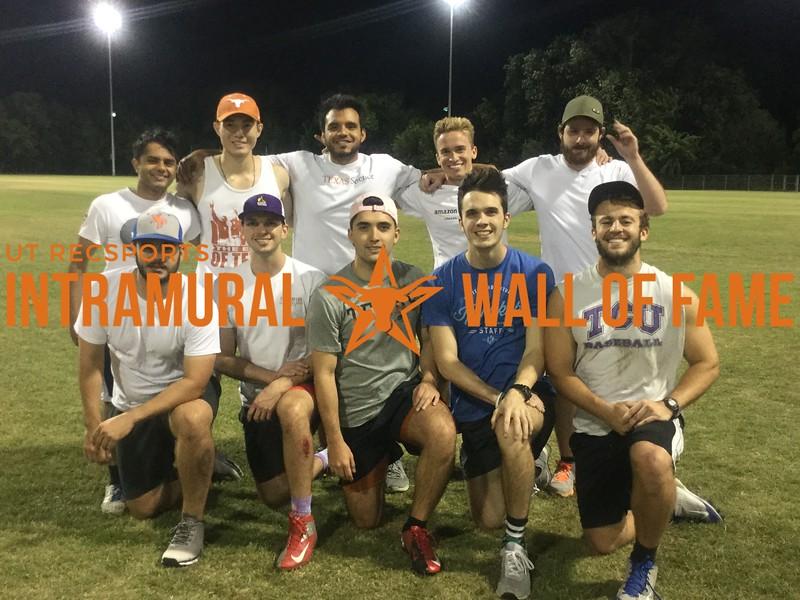 Spring 2017 Softball Mens B Runner Up_The Pinch Runners