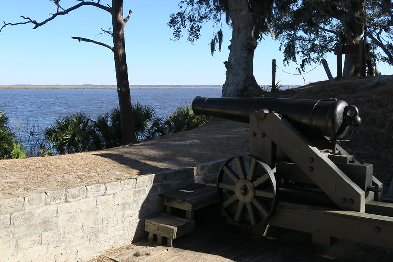 Fort McAllister Historic State Park, GA (2-15-15)