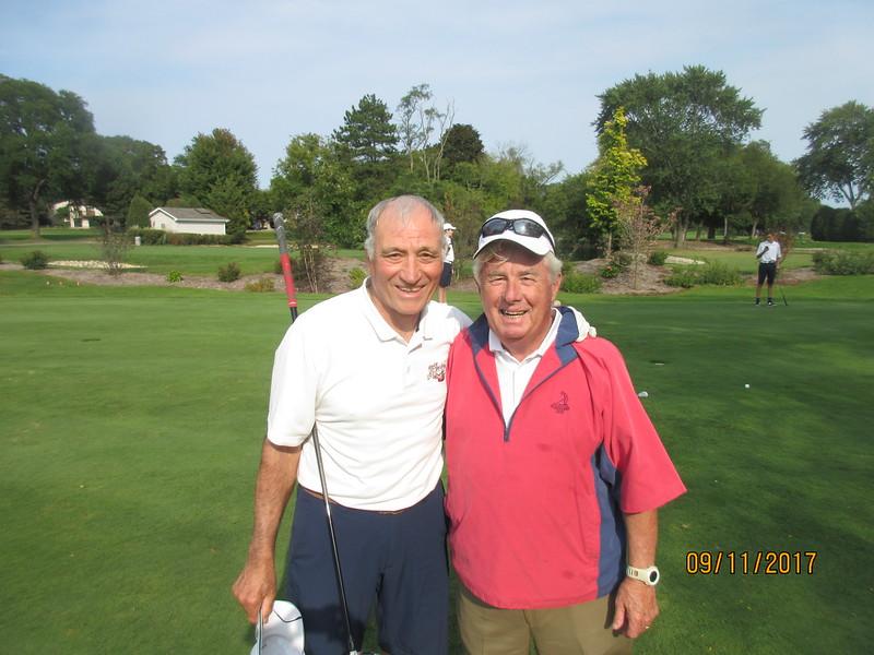 Phil Zera and Jack the St. Viator golf coach.JPG