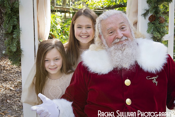 Santa 2019: Ashlee, Kylee, and Madi