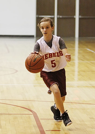 SNMS Girls Basketball 7-8 vs NW 2010