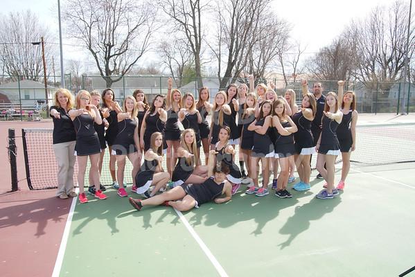 BHS Girls Tennis 2014-2015