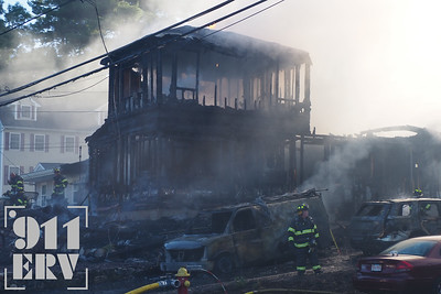 2+ Alarm Structure Fire - Riveredge Rd, Billerica, MA - 6/18/20