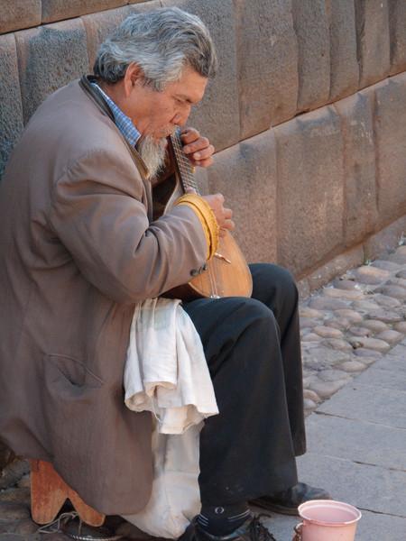 Cusco Street Musician