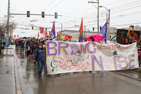 Seattle International Women's Day March 2014
