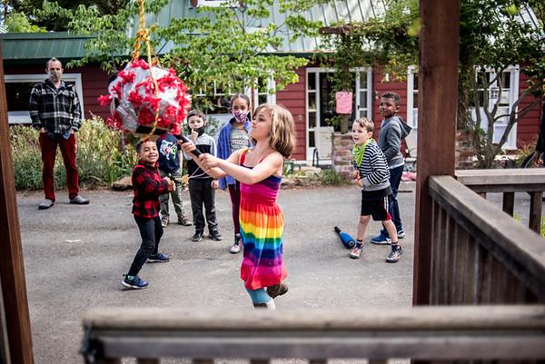 Corona Piñata (last day of School for P&E)
