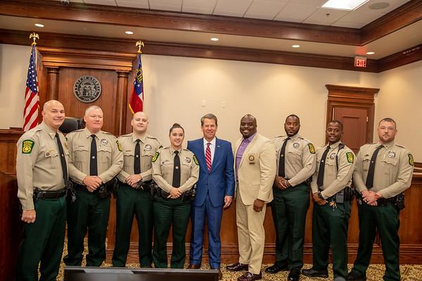 11.06.19_Burke County Sheriff's Office Honoring Deputy Eric Madison