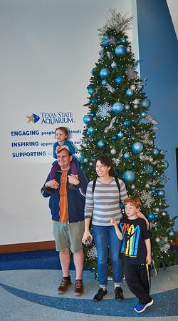 2018 Christmas Zemetras' visit to Aquarium