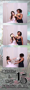 Cristina and Gabi's 15 PB Pics