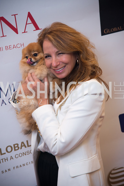 Jill Zarin,  Rebuild Puerto Rico, VIP Fundraiser, Faena Hotel Penthouse, Hosted by Carole Crist, Art Basel, Miami Beach, December 2019, Photo by Ben Droz