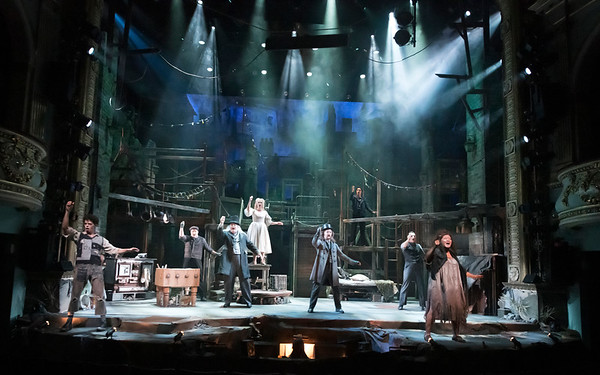 SWEENEY TODD Production Photos