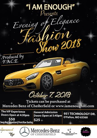 Walk This Way Magazine Presents: An Evening Of Elegance Fashion Show 2018 - Mercedes Benz