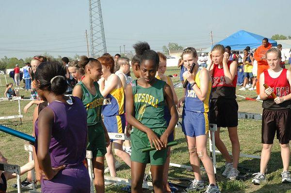 Track City League Middle School June 2005