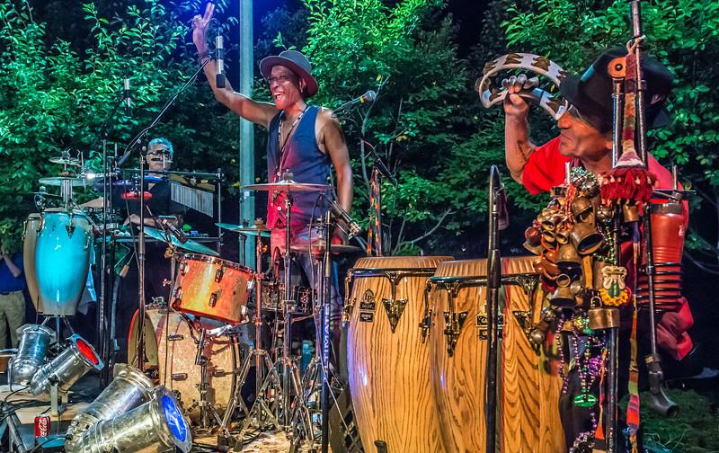 Ralph Ducut,Stan Kipper, Chico Perez-Salute to the Music of Bob Dylan 2014-Wolfe Park, St. Louis Park