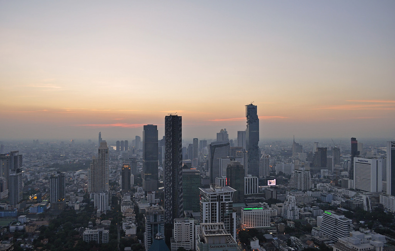 Thailand - Bangkok - view from Moon Bar