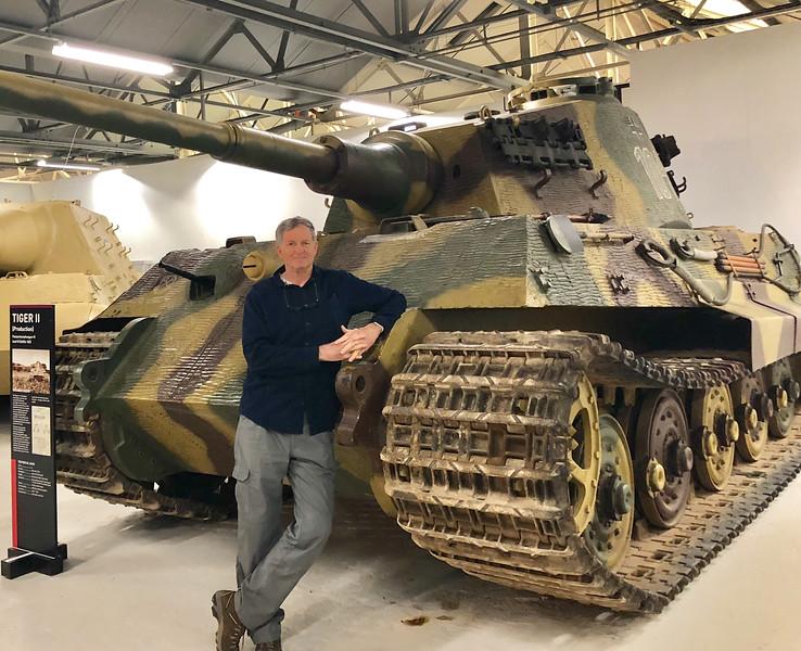 German WWII King Tiger tank