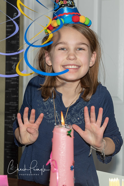 Addison's Ninth Birthday