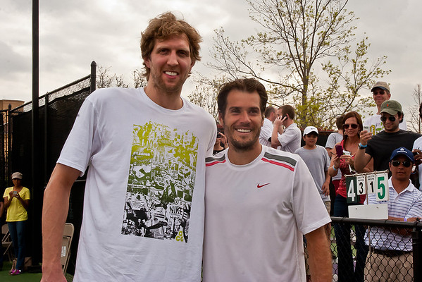 2012 Dallas Tennis Classic (Friday and tennis with Dirk)