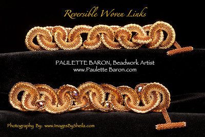 Reversible Woven Links Bracelets