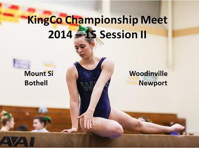KingCo Championship Gymnastics Meet Session @ Newport II
