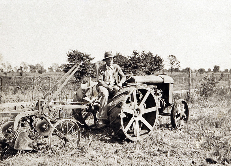 Uncle Norm on the Tractor.JPG