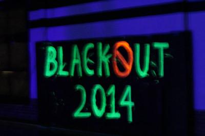Blackout Pep Rally, 11/7/2014