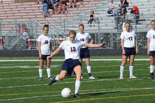 Varsity Girls Soccer vs Lincoln Lutheran