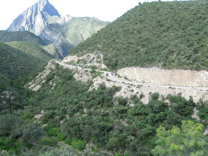 The non-paved road from Rayones to Galeana is a fun, scenic class 2 road.