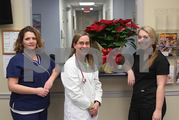 Dr Reece Opens Unicoi Practice - December 2014