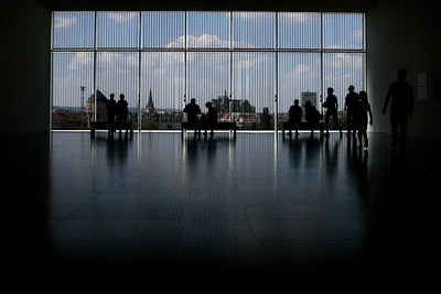 Baies vitrées des galeries 1 à 3