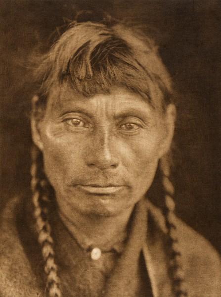 A Cree (The North American Indian, v. XVIII. Norwood, MA, The Plimpton Press,  1928)