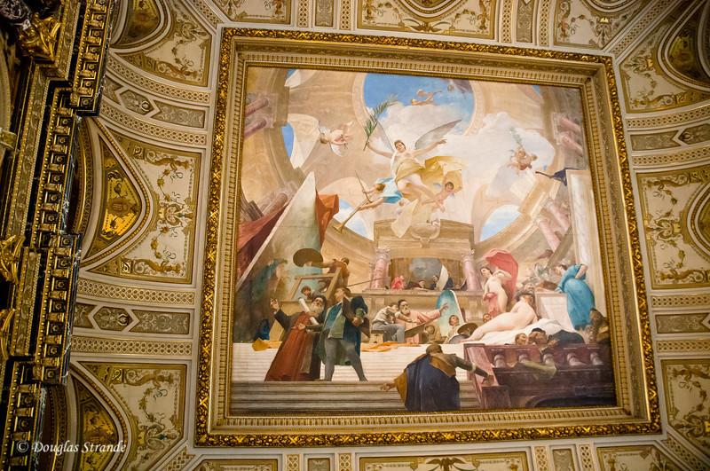 Art History Museum, Vienna -- Ceiling art