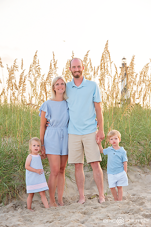 Cape Hatteras Lighthouse, Buxton Family Portraits, Twins, Old Lighthouse Beach, Buxton, North Carolina, Outer Banks Photographers, Cape Hatteras Photographers, Epic Shutter Photography, OBX Photographers,  Family Vacation Photos