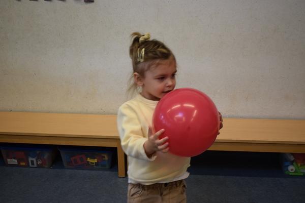 Groep1: ballonnen en ballen