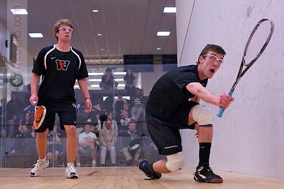2012-02-04 Barrett Takesian (Bowdoin) and Daniel Sneed (Wesleyan)