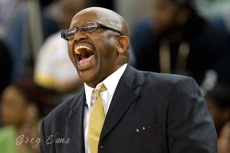 Dudley High School Head Basketball Coach David Price.