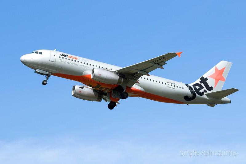 VH-VQK JETSTAR A320