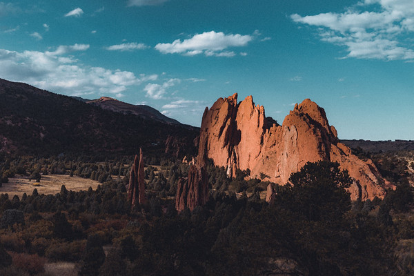 Evergreen Lake - Garden of the Gods - Colorado