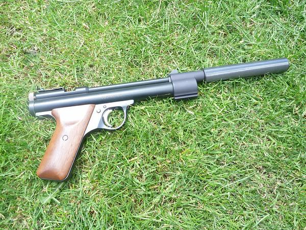 Benjamin EB17... Nutshot silencer