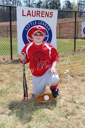 2013 City of Laurens Baseball