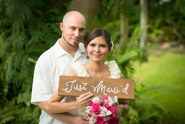 Congratulations Aly & Dustin!