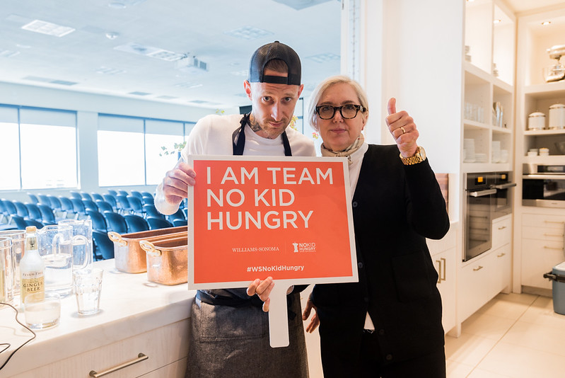 No Kid Hungry + William Sanoma