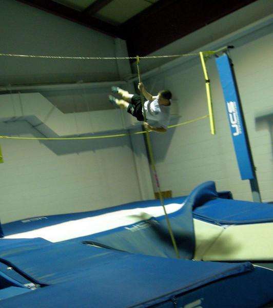 Pole Vaulting Practice