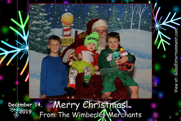 20191214 Wimberley Santa Party