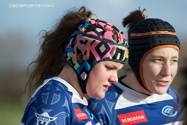 Rugby - RC Bulldogs Lady's toernooi 2016 - Almere