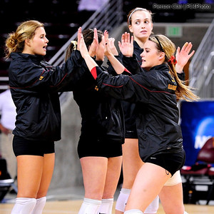 USC Women's Volleyball v New Mexico (NCAA Round 1 - 2010)