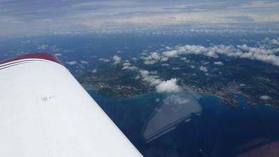April 18, 2012. arriving in Grenada.