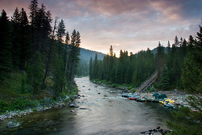 M.F. Salmon River - Upper Canyon
