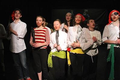 AMHS Presents Pirates of Penzance Rehearsal III photos by Gary Baker